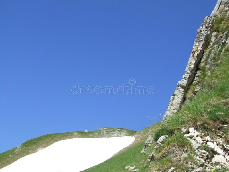 Mountain Durmitor. Mointain Durmitor in Montenegro royalty free stock photo