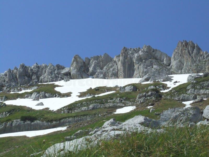 Mountain Durmitor. In Montenegro royalty free stock images