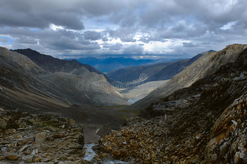 Mountain expanses royalty free stock photos
