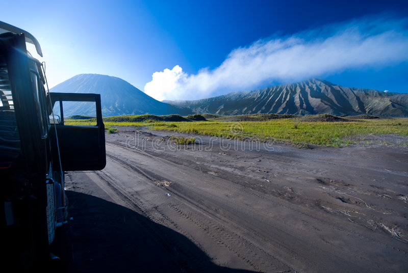 Download Mountain expedition stock image. Image of bromo, scenic - 4992379
