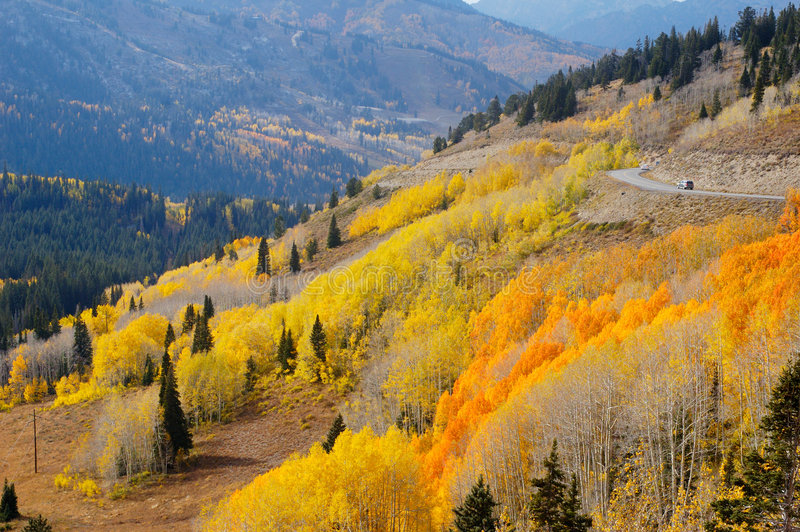 Mountain Fall royalty free stock photography