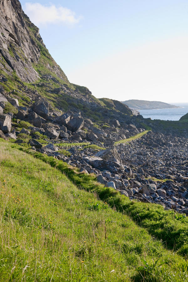 Download Mountain footpaths stock photo. Image of coasts, footpaths - 13042462