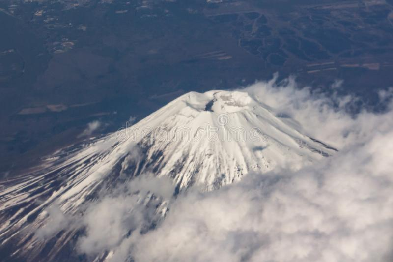 Mountain Fuji in Japan stock images