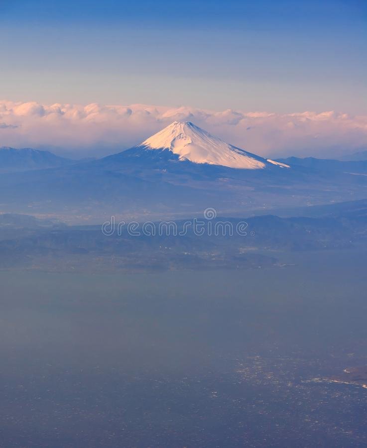 Mountain Fuji Japan royalty free stock photo