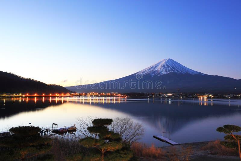 Mountain Fuji And Reflections Stock Photos
