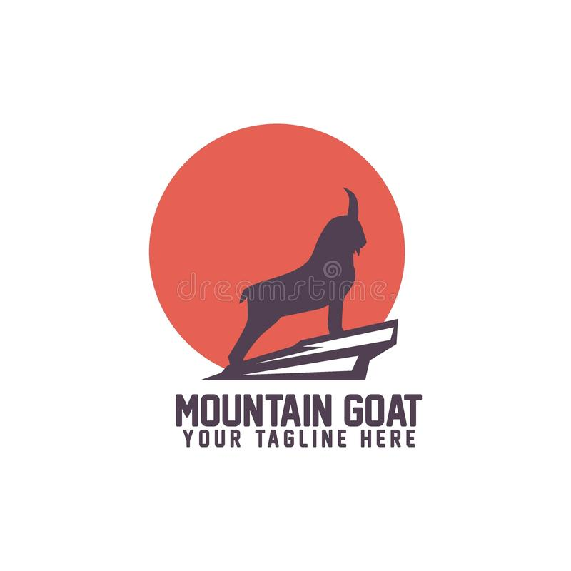 Free Mountain Goat Logo Vector Art Logo Template And Illustration Stock Photography - 106426052