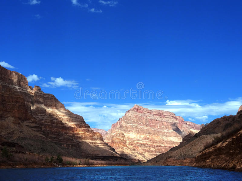 Mountain Grand Canyon royalty free stock photography