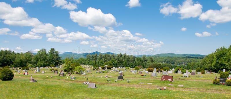 Mountain Graveyard Royalty Free Stock Image