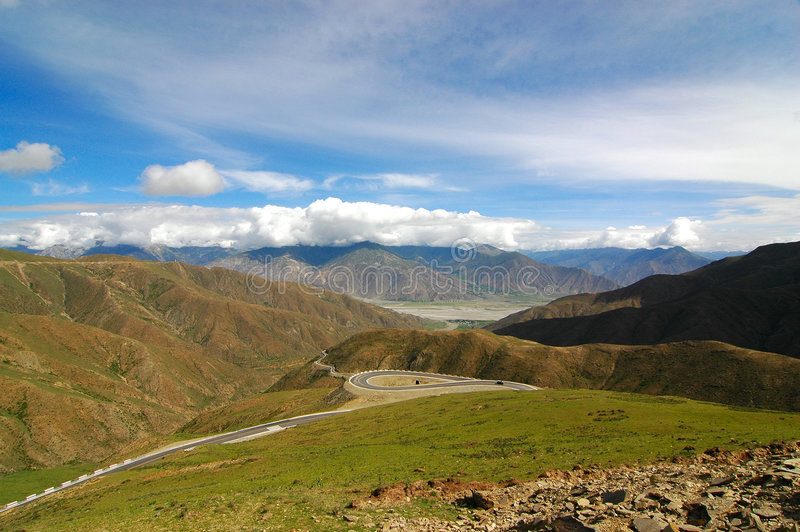 Download Mountain Highway stock photo. Image of range, himalaya - 1088910