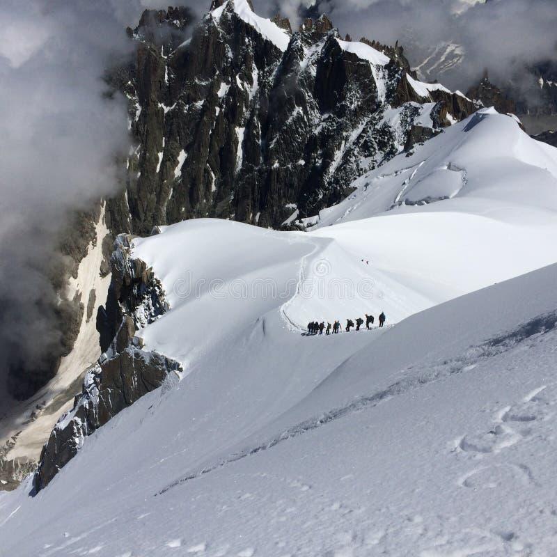 mountain hike stock photography