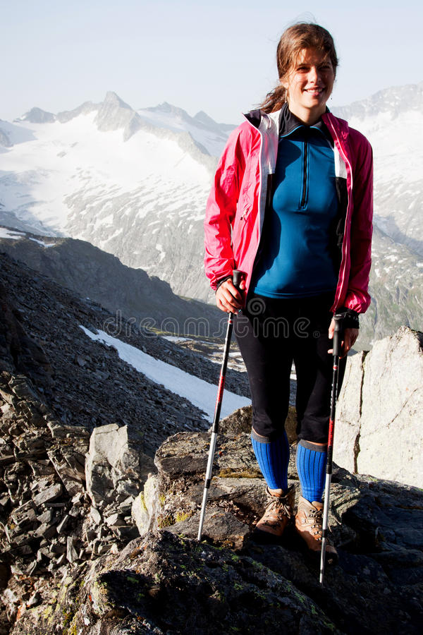 Download Mountain hiking stock photo. Image of hiking, activity - 25908450