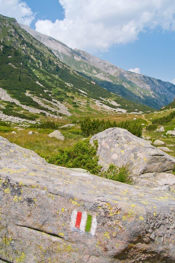 Mountain Hiking Path stock photo