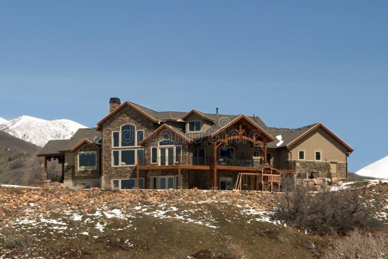 Mountain Home royalty free stock photos