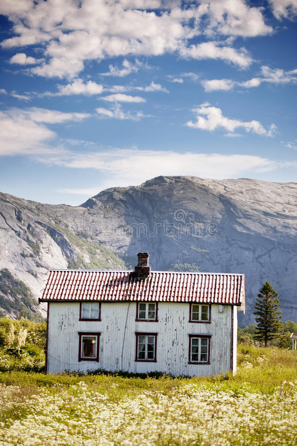 Download Mountain House stock photo. Image of harsh, northern - 11580630