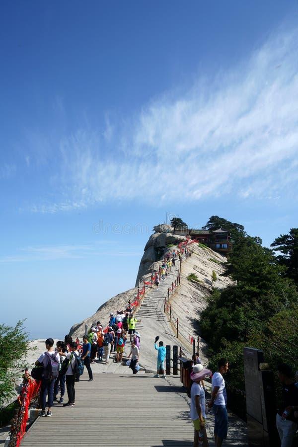 Free Mountain Huashan West Peak Lotus Flower Peak Stock Images - 103648694