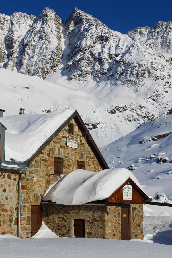 Download Mountain hut stock image. Image of lodge, view, chalet - 17663759
