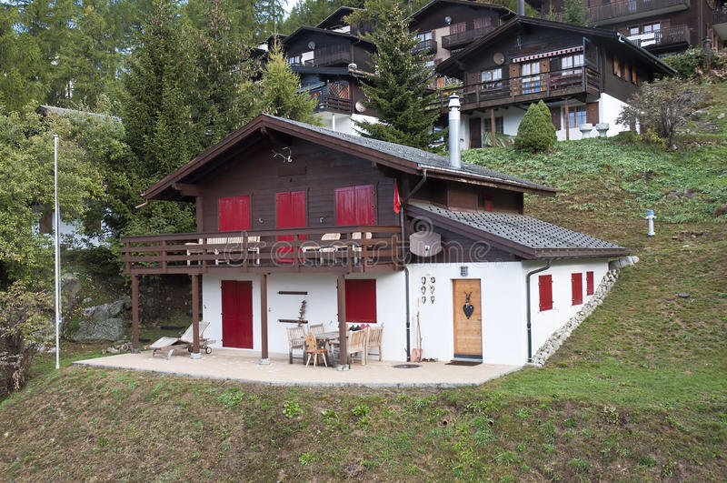 Download Mountain hut stock image. Image of fairy, harmony, scenic - 21625193