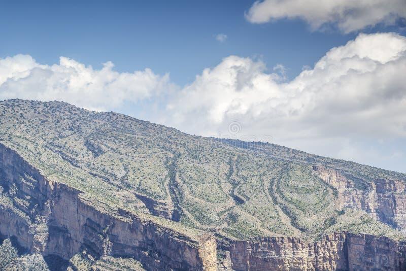 Mountain Jebel Shams royalty free stock images