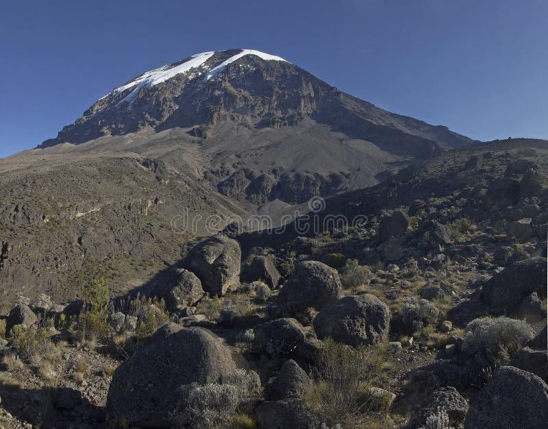 Mountain Kilimanjaro stock photo