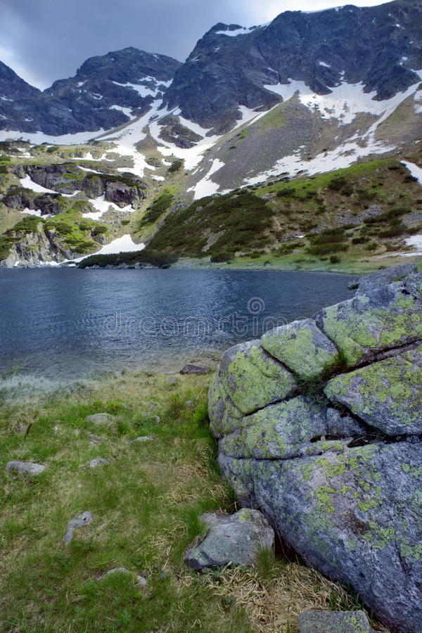 Free Mountain Lake Royalty Free Stock Photos - 10591328