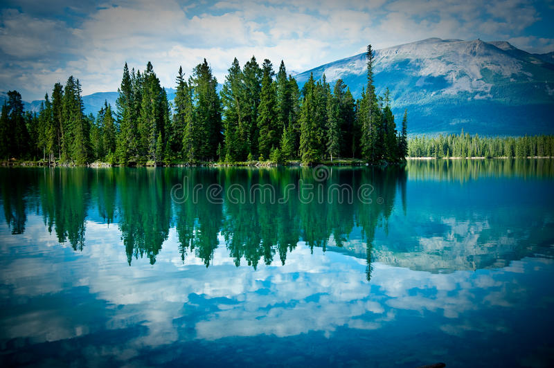 Download Mountain Lake stock image. Image of spruce, travel, still - 10608867