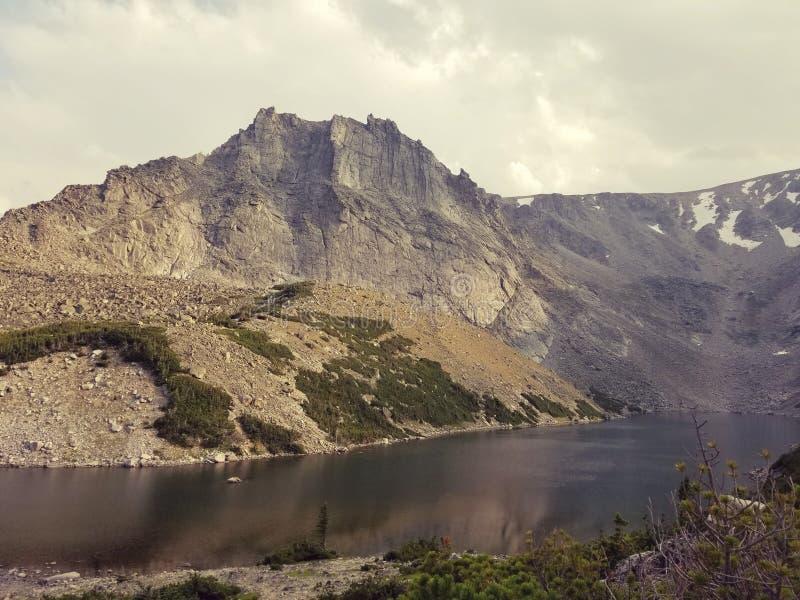 Mountain Lake royalty-vrije stock afbeelding