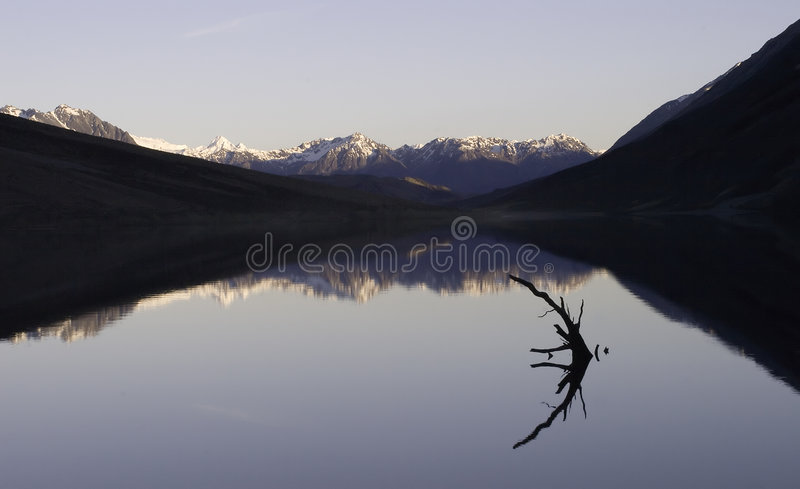 Mountain Lake royalty free stock images