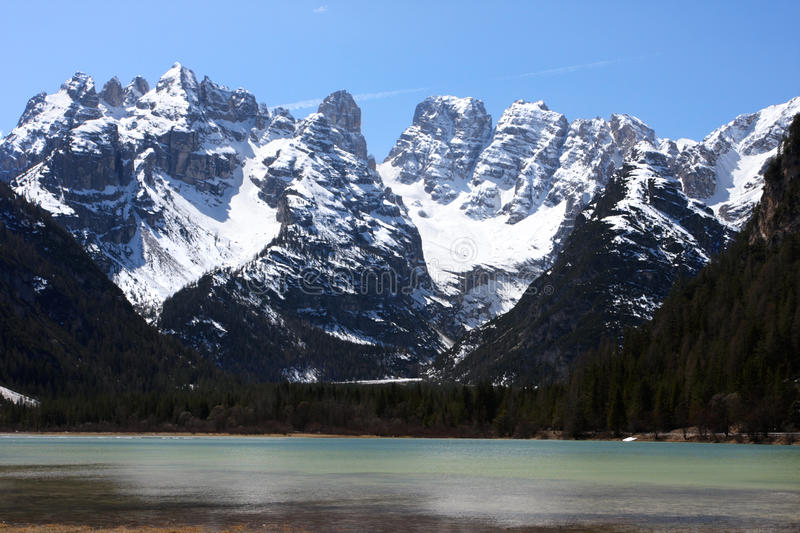 Download Mountain lake stock photo. Image of bright, peak, clear - 29231558
