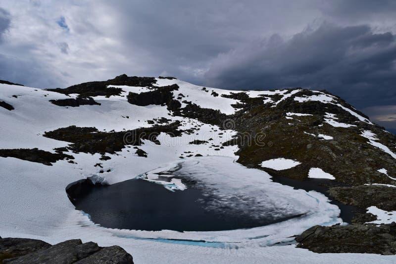 Mountain Lake lizenzfreies stockfoto
