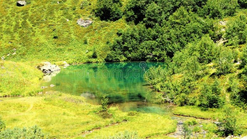 Mountain Lake fotos de archivo