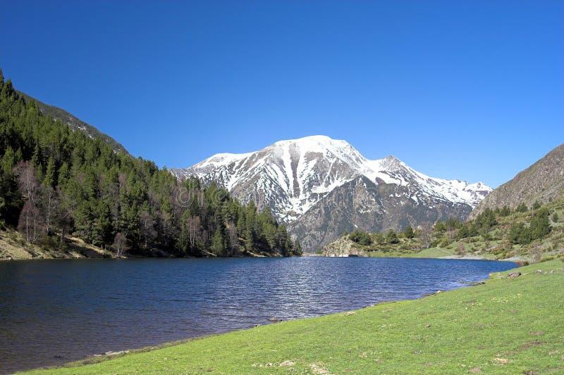 Download Mountain lake stock photo. Image of mountain, nature, touristic - 747172
