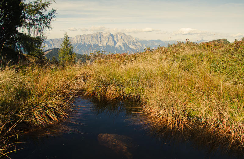 Mountain Lake immagine stock
