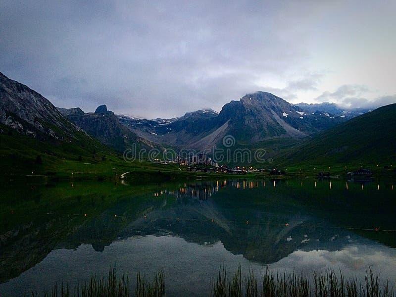 Mountain Lake stock fotografie