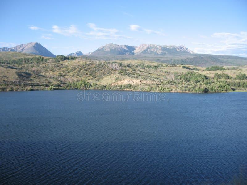 Mountain Lake fotografia stock