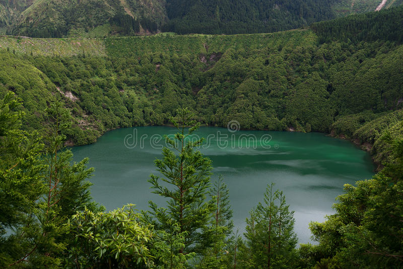 Mountain Lake stock foto's