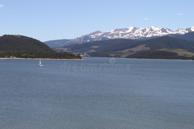 Download Mountain Lake stock image. Image of sail, vast, blue - 41799315