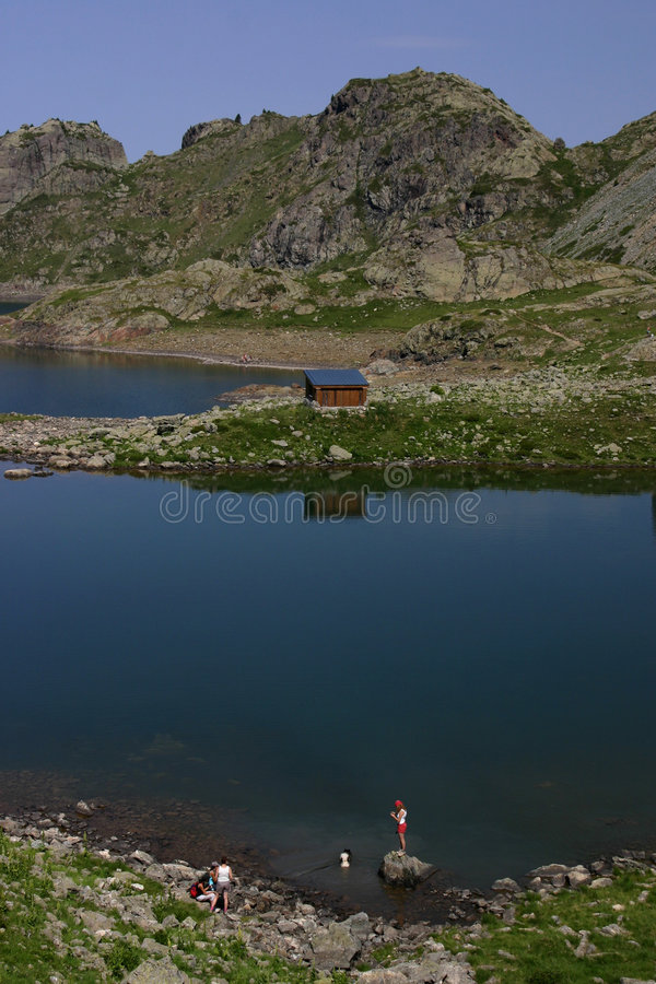 Download Mountain Lake In French Alps Stock Photo - Image: 7787988