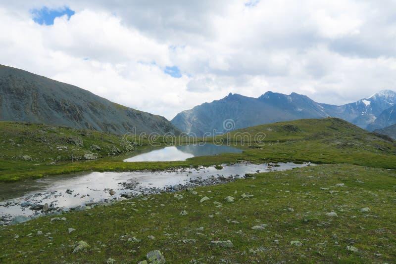 Mountain lake. Valley of 7 lakes. Altai Mountains, Russia. Mountain lake. Valley of 7 lakes. Altai Mountains stock photos