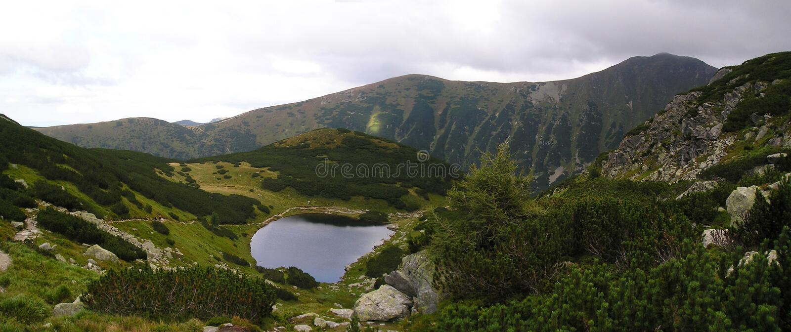 Download Mountain Lake, Wide-angle Royalty Free Stock Photos - Image: 11182128