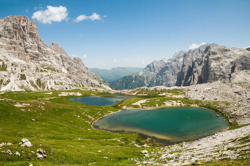 Download Mountain Lakes stock photo. Image of ferrata, cortina - 33877268