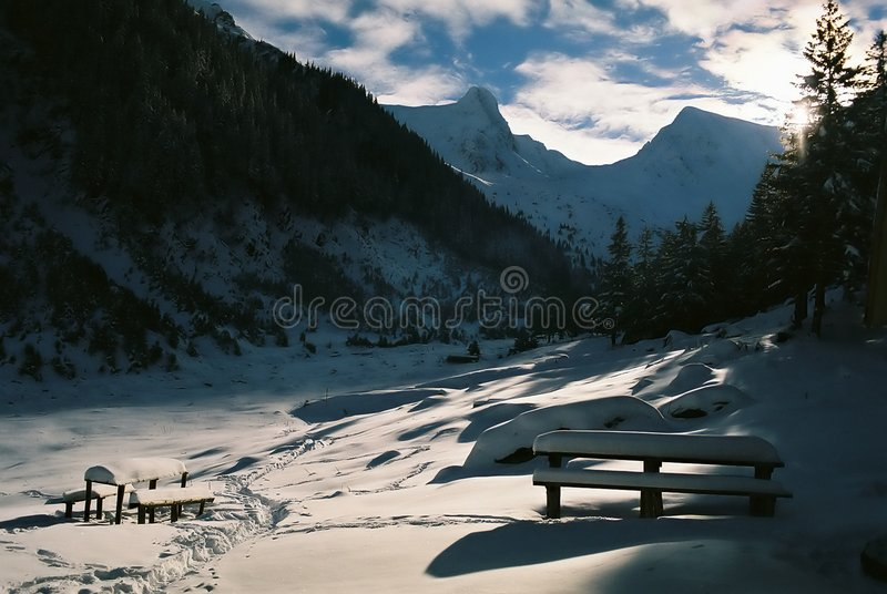 Download Mountain landscape stock photo. Image of nature, foot, cozy - 1564