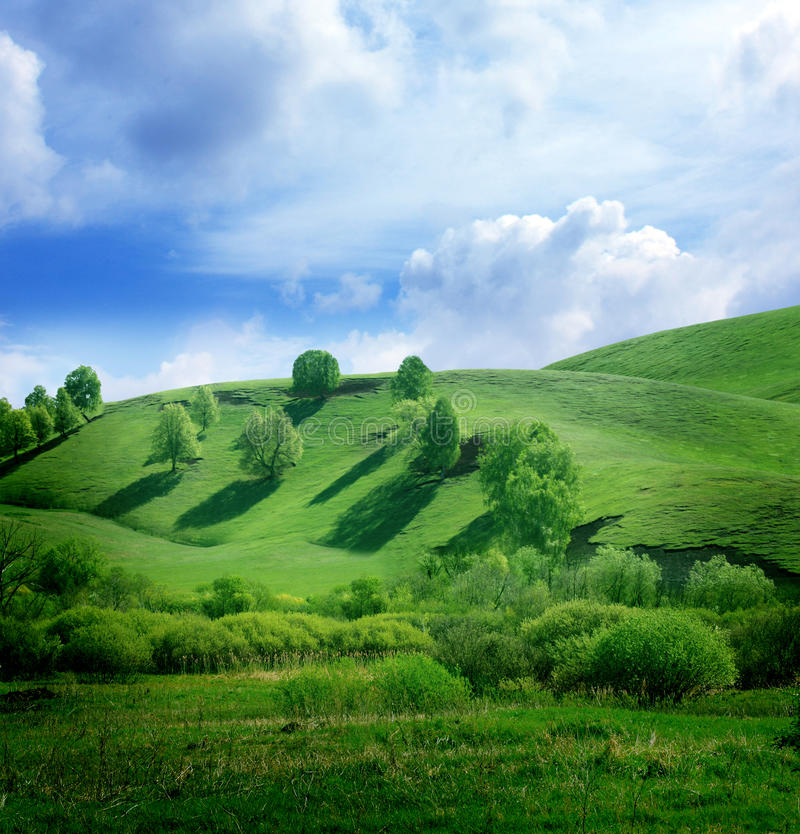 Download Mountain landscape stock photo. Image of grass, clear - 20112628