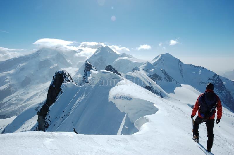 Mountain landscape stock image