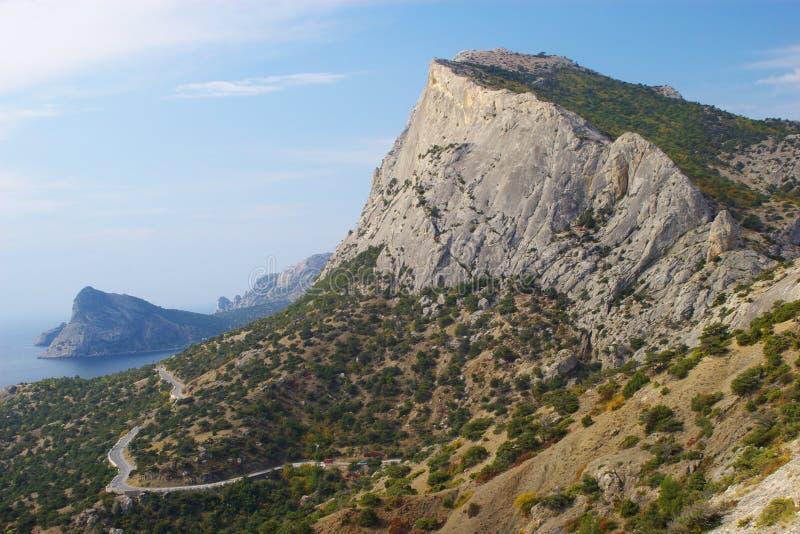 Mountain landscape in Crimea royalty free stock photo