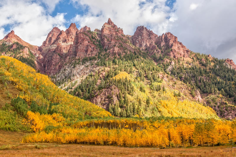 Mountain Landscape in Fall royalty free stock image