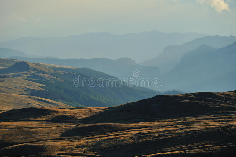 Download Mountain Landscape With Hills In Background Stock Photo - Image: 11241490