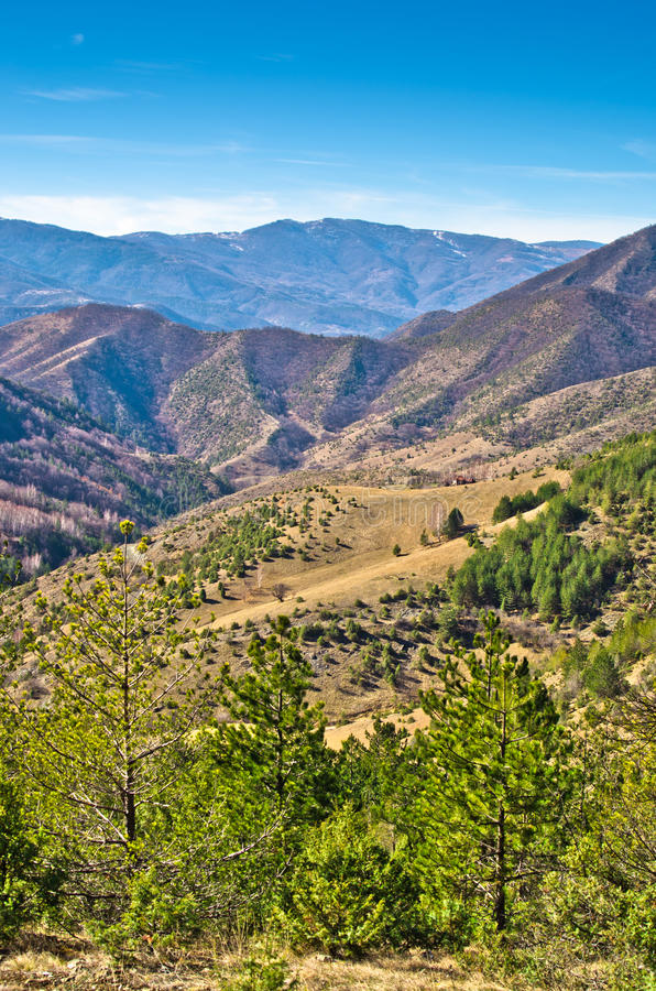 Free Mountain Landscape In Early Spring, Mount Stolovi Stock Image - 42892141