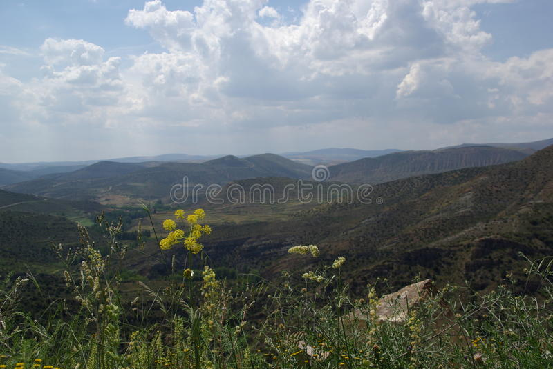 Mountain Landscape. In northern Spain royalty free stock image