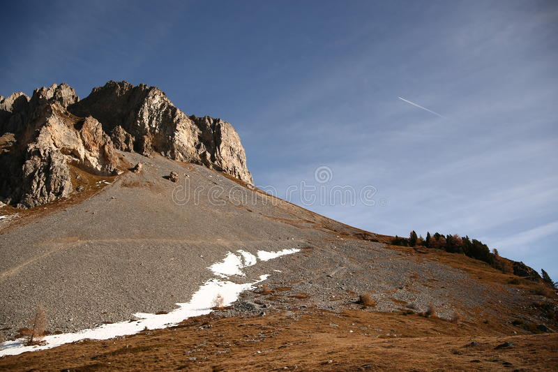 Mountain royalty free stock photography
