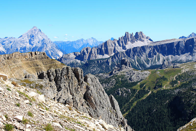 Download Mountain Landscape And The Valley Stock Photo - Image: 26500678